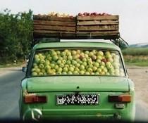 Apfeltransport