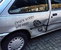 Chuck Norris-Tritt