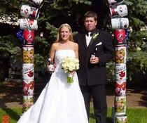 Bier-Hochzeit