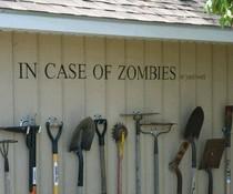 Zombies oder Garten