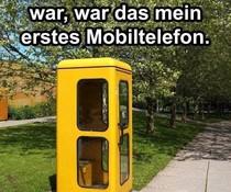 Erstes Mobiltelefon