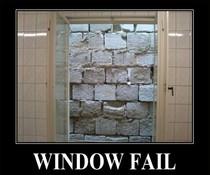 Sinnlos-Fenster