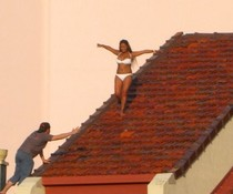 Tanz auf dem Dach