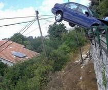 Eingeparkt