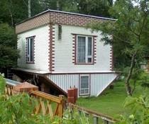 Verkehrtes Haus