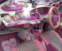 Hello Kitty Auto