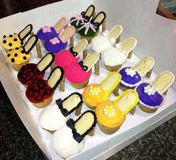 Leopard High Heel Shoe Cake