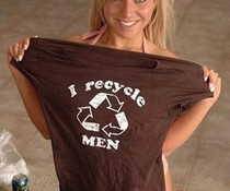 Men Recycling