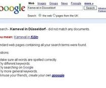 Google-Suche Karneval