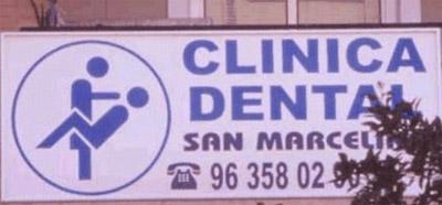 Das Logo einer spanischen Zahnklinik ist sehr schlecht ausgewählt worden.