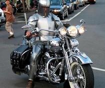 Moderner Ritter