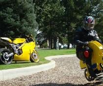 Motorrad-Tausch