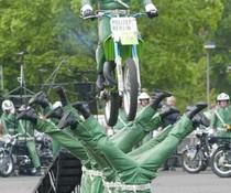 Polizei-Stunt