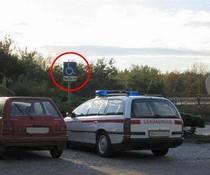 Behinderte Polizei