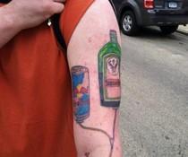 Flüssiges Tattoo