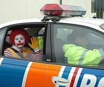 Ronald verhaftet