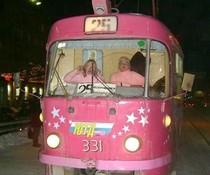 Barbie-Tram
