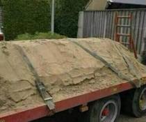Sand gesichert