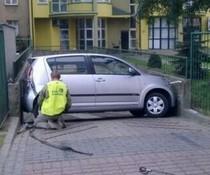 Sauber eingeparkt