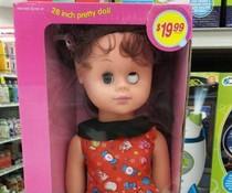 Schielende Puppe