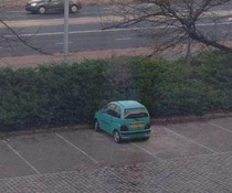 Schlecht einparken