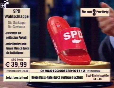 Eine SPD-Wahlschlappe im Angebot...
