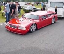 Flacher Volvo