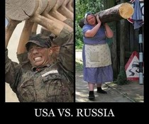 USA vs. Russia