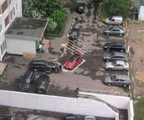 VIP-Parkplatz