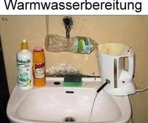 Warmwasser
