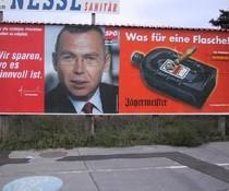 SPÖ-Flasche