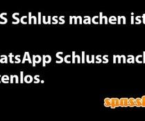 WhatsApp-Spruch