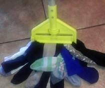 Socken-Wischmop