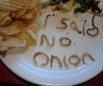 No Onion!