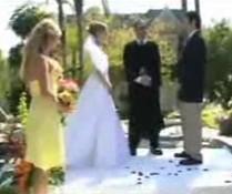 Pool-Hochzeit