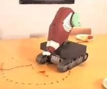 Ketchup-Roboter