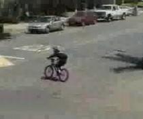 Fahrradstunt